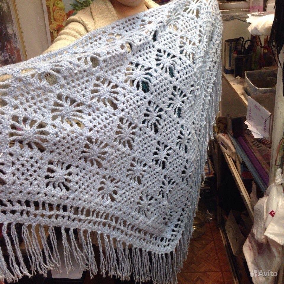 Вязание платков спицами с фото 781