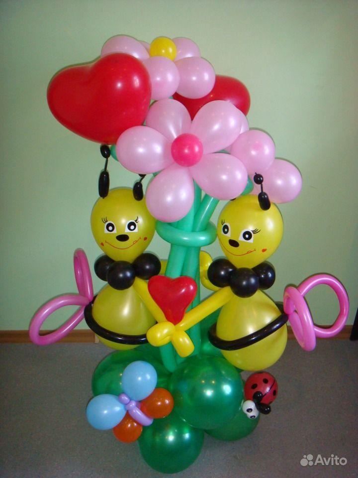 Поделки из надувных шаров фото 84