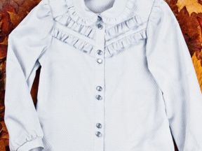 Купить Белую Блузку Для Девочки