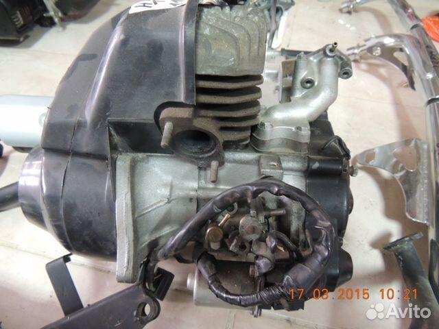 Honda tact AF24 двигатель