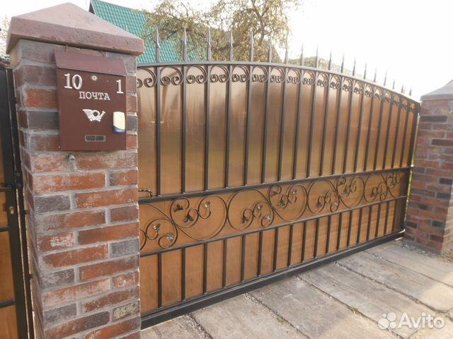 заборы калитка ворота фото