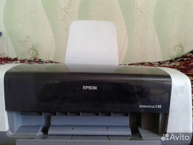 Цветной струйный принтер Epson Stylus C45