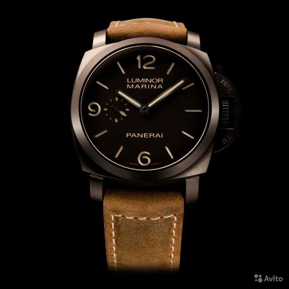 Купить часы luminor panerai копия