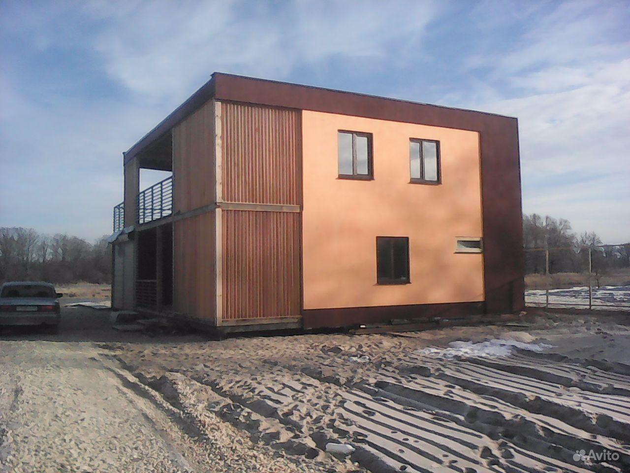 Фото быстровозводимых домов из панелей на сваях