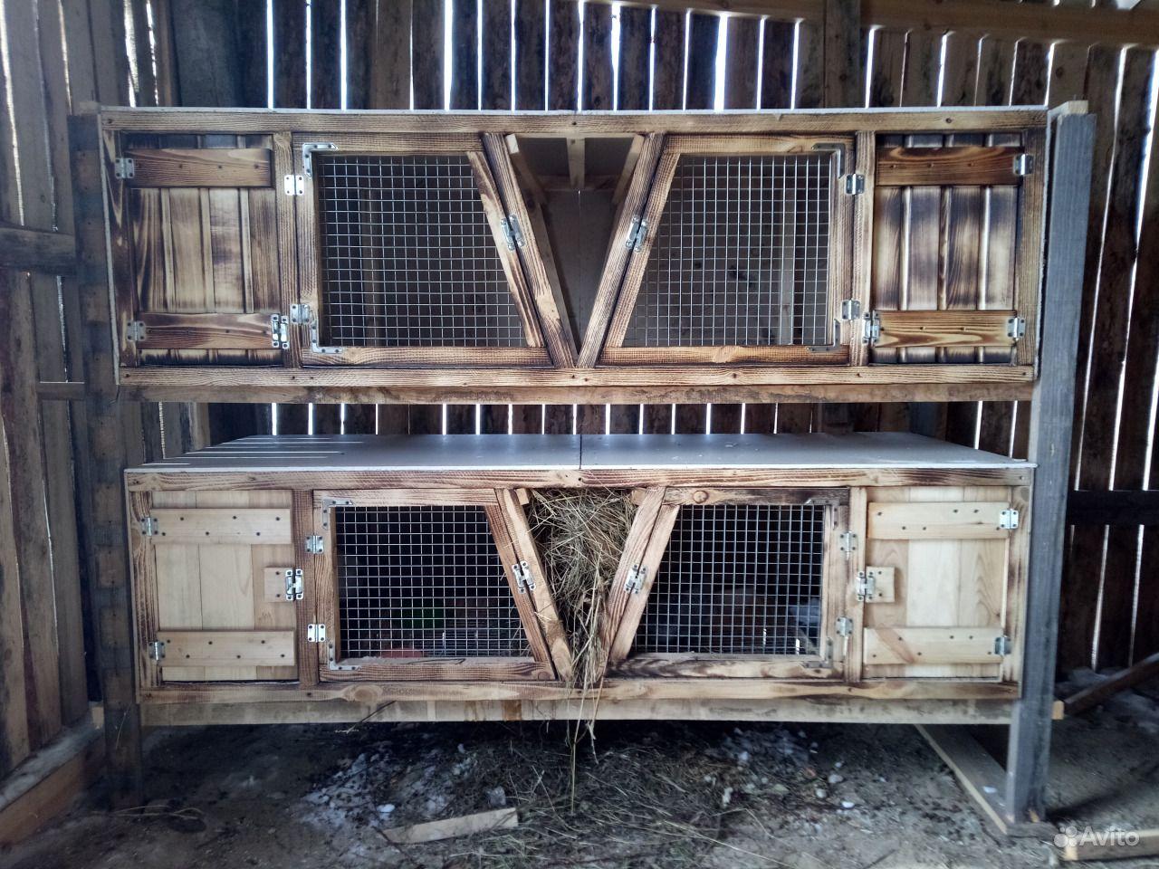 Клетки для кроликов в Канске - фотография № 1