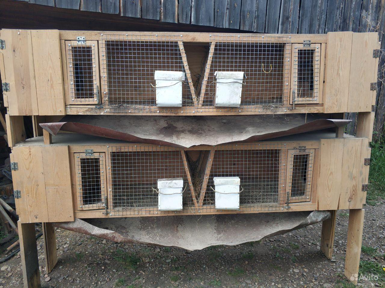 Клетки для кроликов в Иркутске - фотография № 1