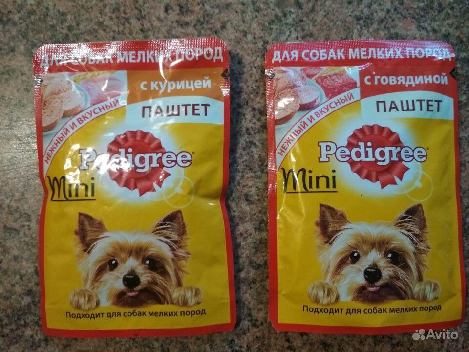 Корм Pedigree Mini