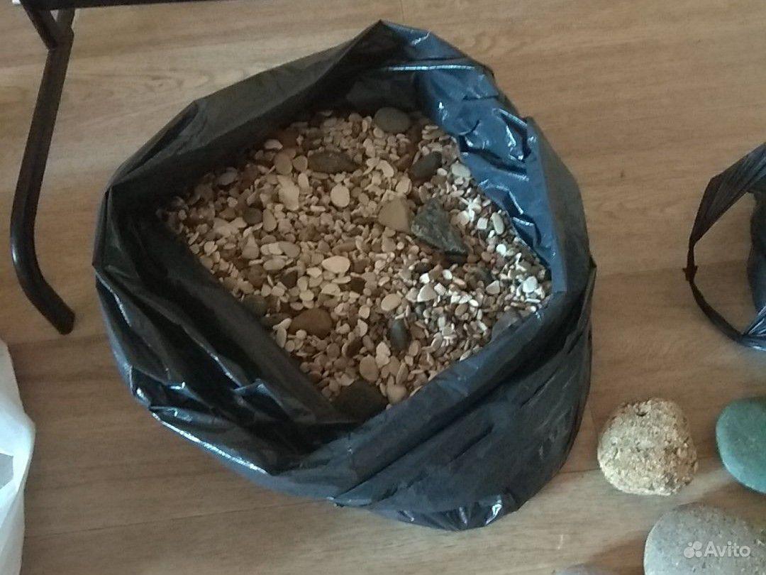 Камни и грунт для аквариума. около 40 кг купить на Зозу.ру - фотография № 3