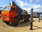 Автовышка Novas-460 (45м) на шасси Камаз-43118 объявление продам