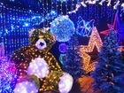 Гирлянды, новогодние украшения, свет