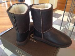 Угги australian UGG original Nappa Short Zipper