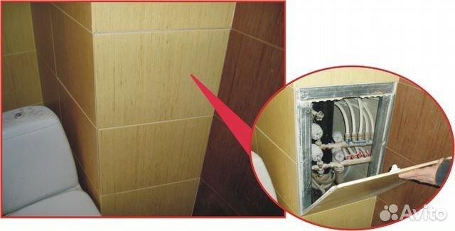 Лючок сантехнический под плитку купить в москве