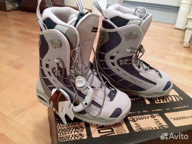 94a52f2a074b Ботинки для сноуборда Salomon р 38 (eur 39) 24.5см   Festima.Ru ...