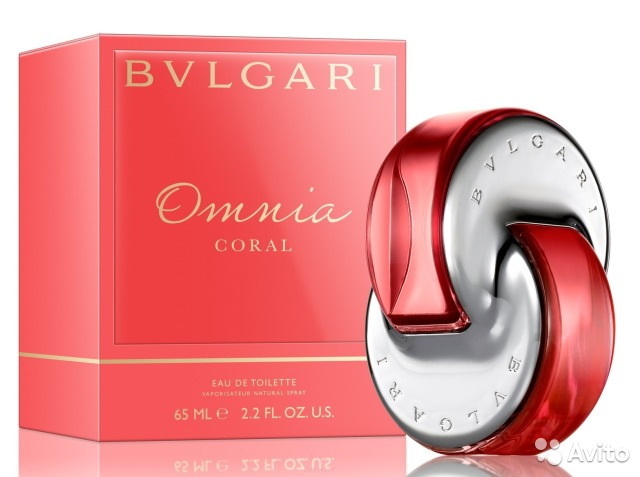 Bvlgari omnia coral edt 65 ml. жен