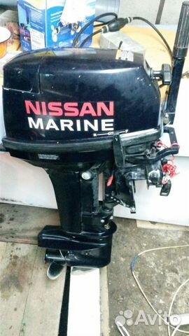 лодочные моторы четырехтактные nissan marine