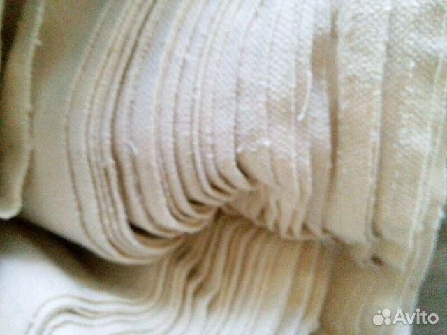 62690f29df49 Белая ткань,100 хлопок, для творчества 200 метров— фотография №1