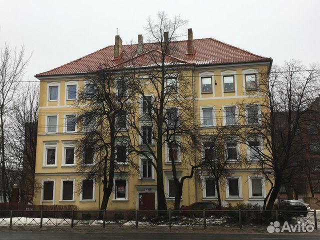 1-к квартира, 43.8 м², 1/4 эт.