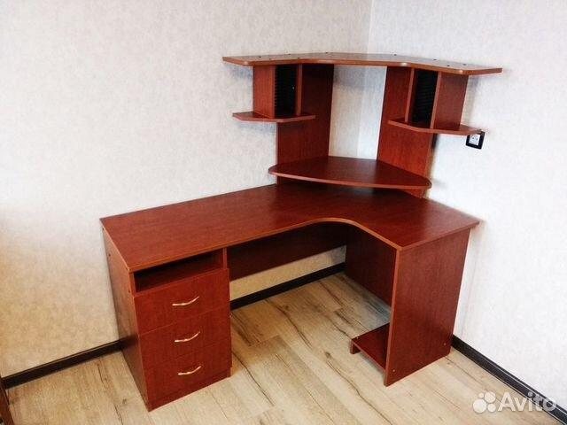 угловой компьютерный стол с надстройкой купить в вологодской области