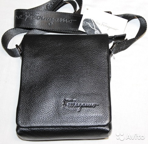 Мужская кожаная сумка планшет Montblanc Large New   Festima.Ru ... 3413ce57df7