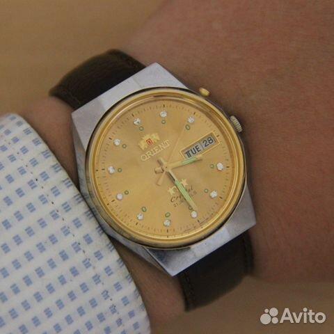 Orient Crystal Ориент автоподзавод часы Japan в 0994c0770ad13