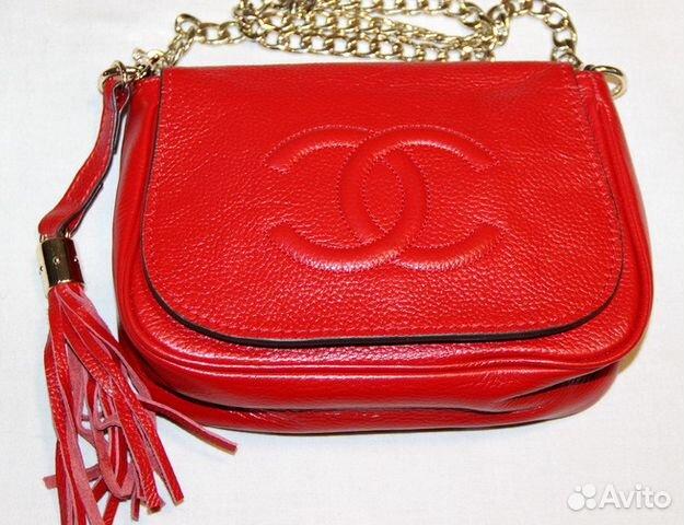 54f8289cc5bf Женская кожаная сумка Снanel mini bag red купить в Москве на Avito ...