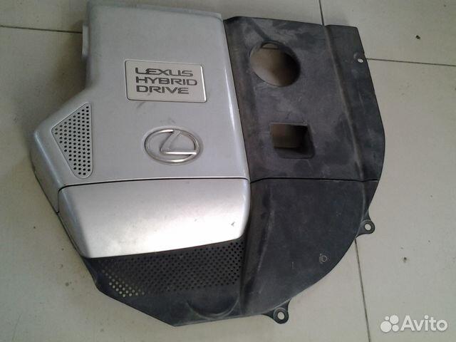 Накладка двигателя лексус RX-400.гибрид 2008г 89028799240 купить 3