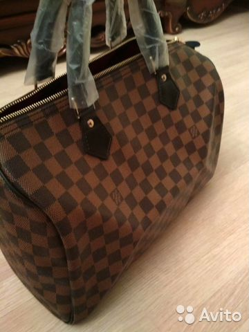 88740a372160 Сумка на ремне Speedy Louis Vuitton Bandoliere Lv купить в Москве на ...