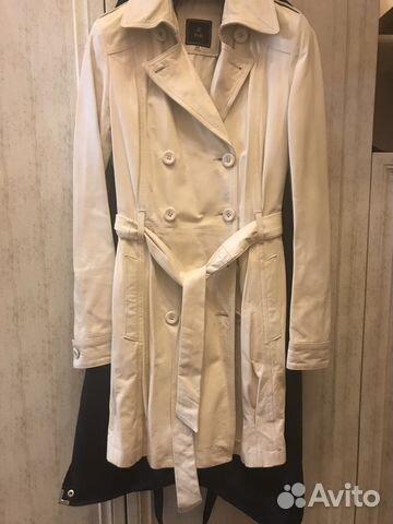bdbb789a946 Новое кожаное пальто италия fabi купить в Самарской области на Avito ...