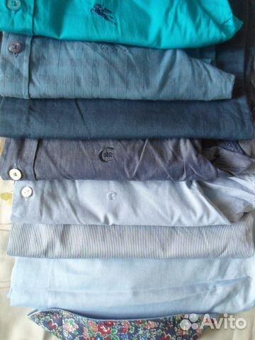 d2f0e9aa81b2c42 Рубашки разные р. 46-48 (17 шт.) купить в Москве на Avito ...