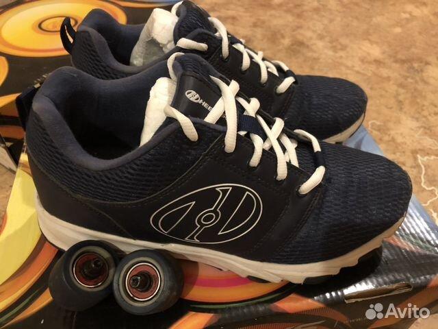 e889fa93980e Кроссовки Heelys на колёсиках б у 39 купить в Новосибирской области ...