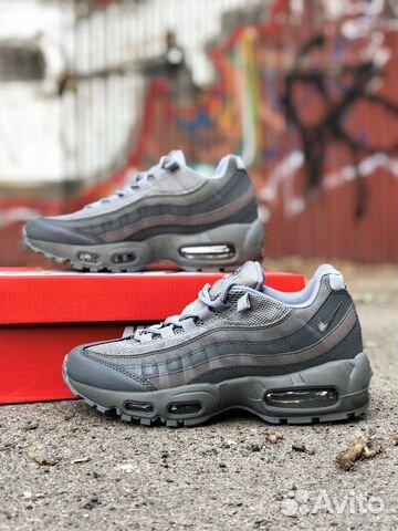 2a29ed47 Кроссовки Nike air max 95, серые (36-37 размер) | Festima.Ru ...