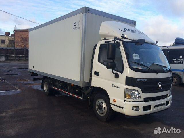 44d94477a62c8 Foton Новый грузовик Изотерм. Фургон Категория