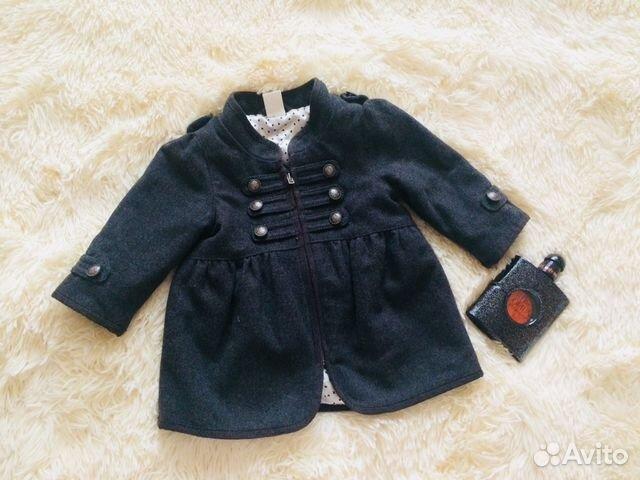 f0ee10f98a0 Пальто для девочки купить в Челябинской области на Avito ...