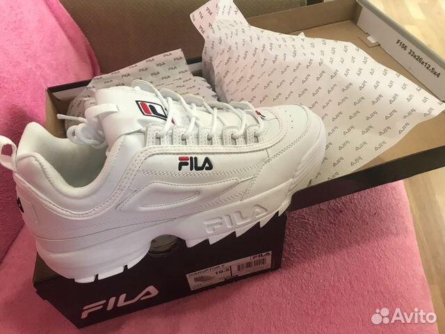Оригинал Fila Disruptor 2 из США купить в Санкт-Петербурге на Avito ... fc13f14e9fc
