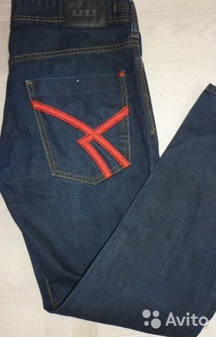 0d0adc633fe Fsbn мужская линия джинсы купить в Кировской области на Avito ...
