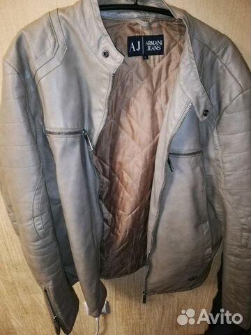 43c83184b8f1 Кожаная куртка Armani jeans   Festima.Ru - Мониторинг объявлений