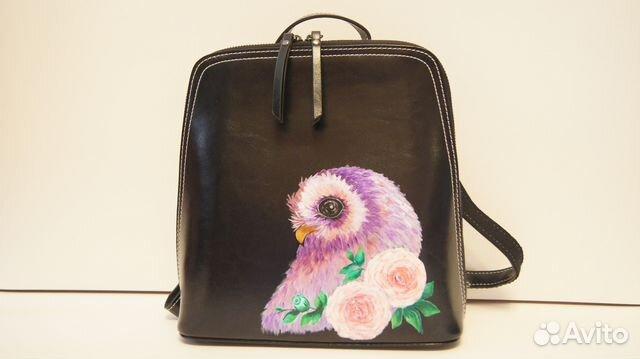 88d59ee0ed05 Кожаный рюкзак