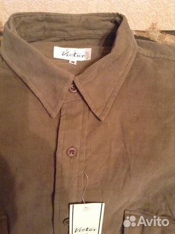 a72126a6e7e Рубашка вельветовая Мужская