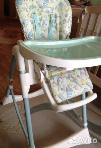стульчик для кормления Happy Baby Kevin V2 купить в москве на Avito