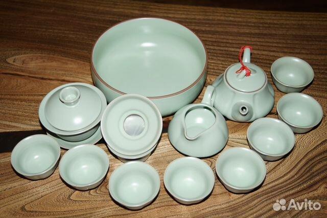 2844d89535bf Набор чайной посуды купить в Белгородской области на Avito ...