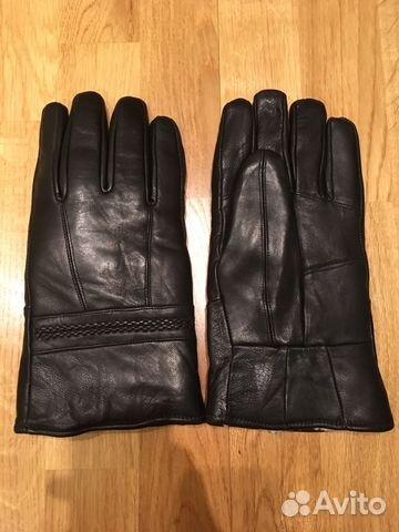 8708db68fd01 Кожаные зимние мужские перчатки купить в Москве на Avito ...