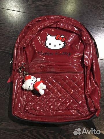 bb7168671964 Школьный рюкзак Hello Kitty купить в Воронежской области на Avito ...