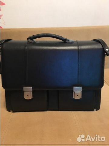 Мужская сумка портфель. Натуральная кожа   Festima.Ru - Мониторинг ... a6d6175de05