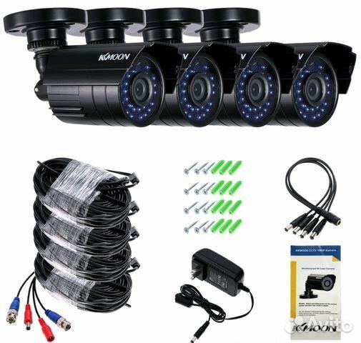Комплект видеонаблюдения 89086671777 купить 8
