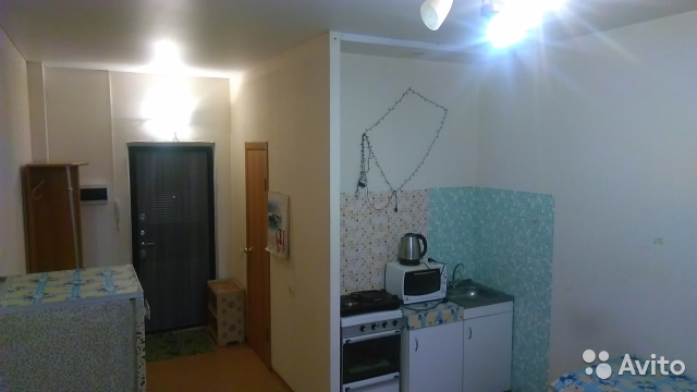 Продается квартира-cтудия за 965 000 рублей. Красноярск, улица Академика Павлова, 1с2.