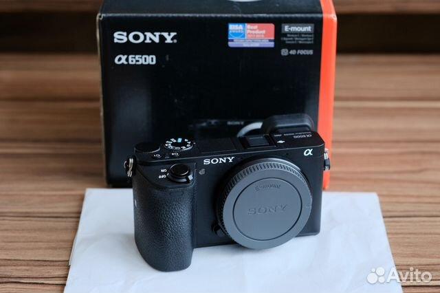 Sony A6500 Body new, exchange