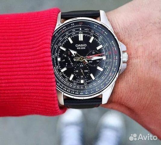 31a9d17e Новые Японские часы Casio MTP-SW320D-1A оригинал— фотография №1
