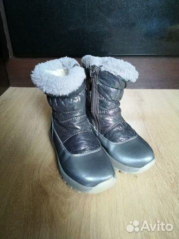 Зимние сапоги для девочки р-р 28 89515683333 купить 5
