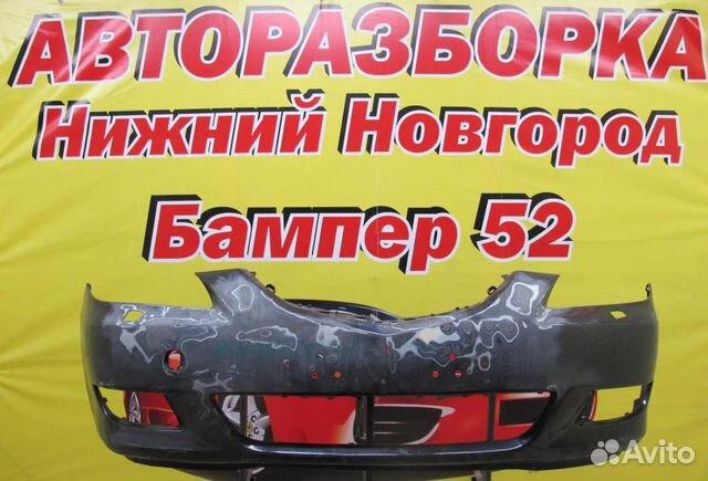 89524408730 Mazda 3 (BK) 2002-2009 Бампер передний