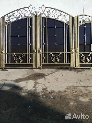Ворота готовые София купить 1